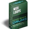 Indie Rock MIDI Drums V2 - PBR Me 95bpm