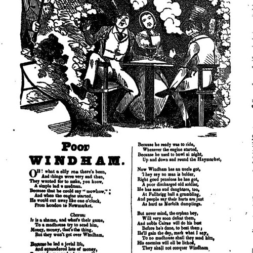 19. Fighting back. A ballad about William Frederick Windham, 1862