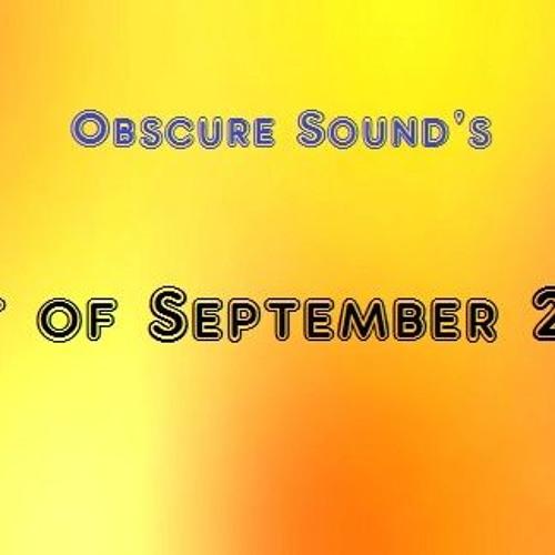 Obscure Sound - Best of September 2017
