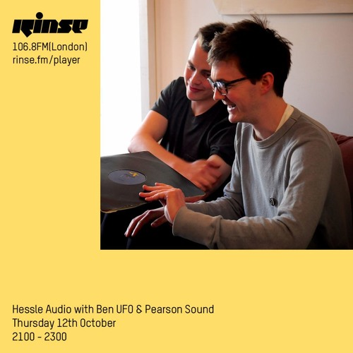 Hessle Audio - Thursday 12th October 2017