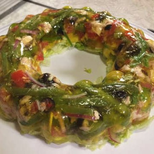 Jellied Salad Niçoise
