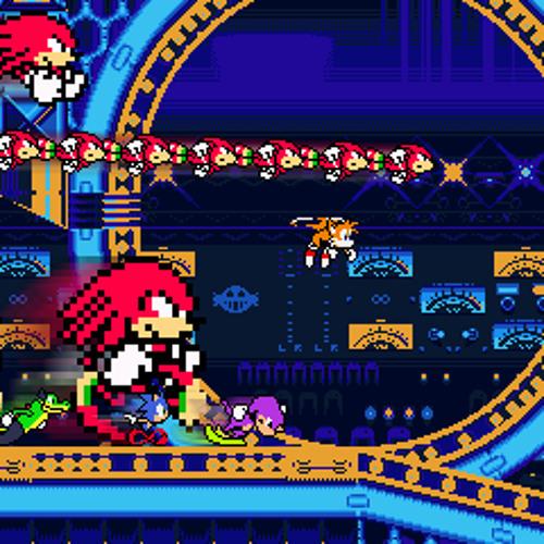 Sonic Mania - Studiopolis Act 2(8 BIT - 2A03+DPCM REMIX) by