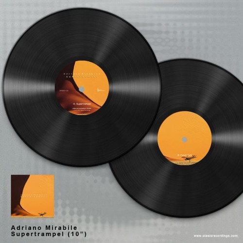 Out Now Vinyl Only! SRWAX03 - Adriano Mirabile - Supertrampel EP - Supertrampel Snippet