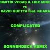 DIMITRI VEGAS & LIKE MIKE vs DAVID GUETTA feat. KIIARA - COMPLICATED (SONNENDECK REMIX)