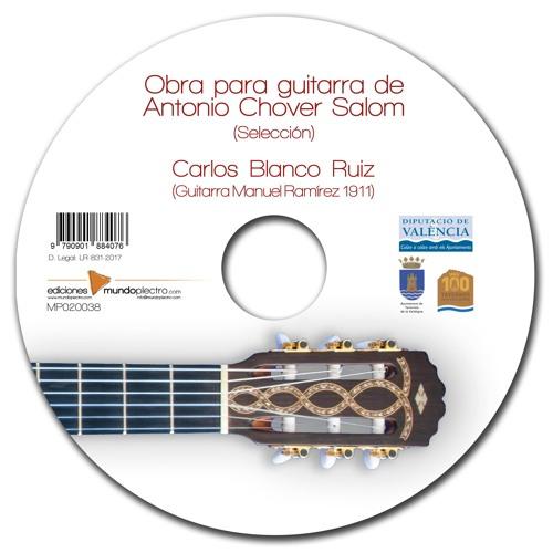 La guitarra de Antonio Chover Salom 2017
