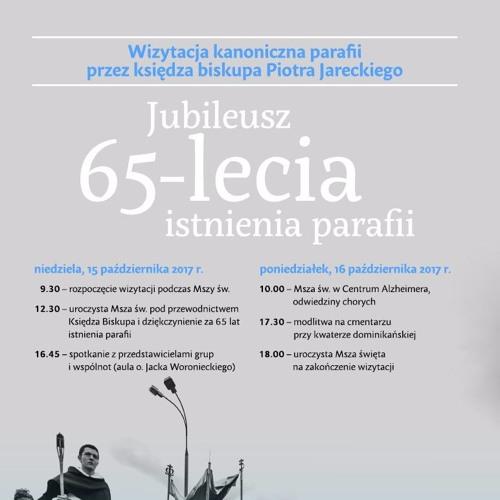 Wizytacja kanoniczna parafii przez ks. bp. Piotra Jareckiego