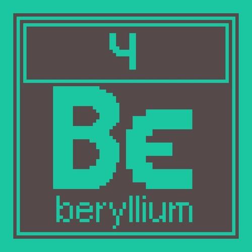 004 Beryllium
