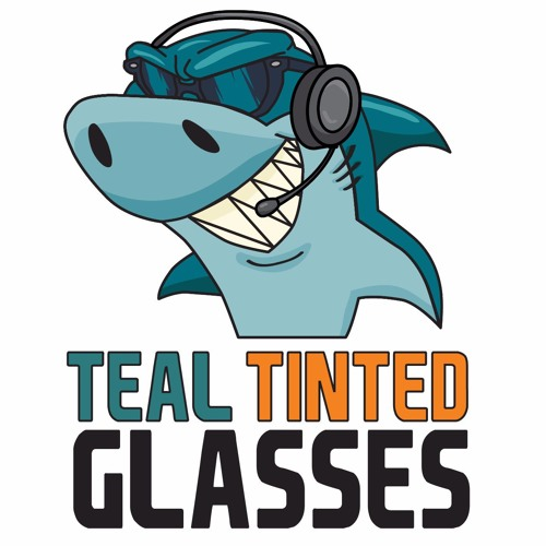Teal Tinted Glasses 20 - Vegas Salamander