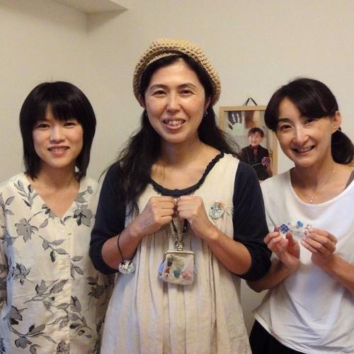 Yanajun Handmade Creator parle avec Eri et Junko