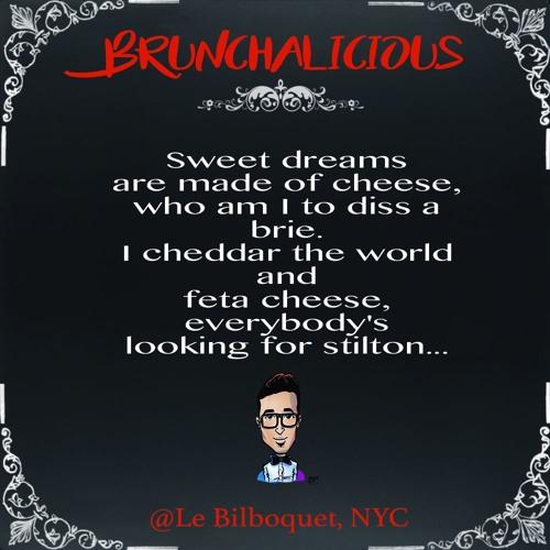 Brunchalicious @Le Bilboquet NYC 10/14/2017