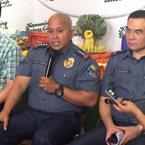 PNP Chief Ronald Dela Rosa, Oct. 16