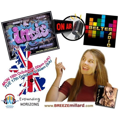 BREEZE Millard UK Interview BELTER RADIO 161017