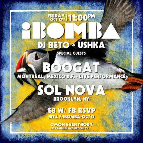 iBomba live set 10.13.17