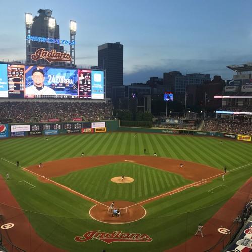 Baseball Half-Inning - Detroit Tigers vs. Cleveland Indians 7-9-17