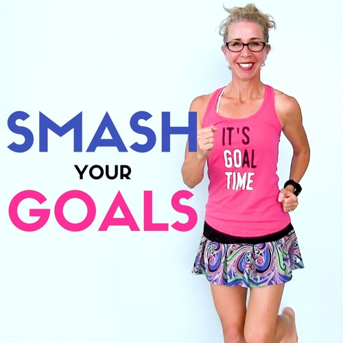 30 Minute INDOOR WALK + RUN Story Time | How To Set And SMASH Your GOALS Let's RUN Podcast