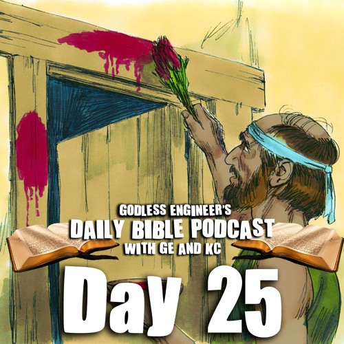 The Bible Parable of Moses Begins To End || Daily Bible Podcast, Day 25