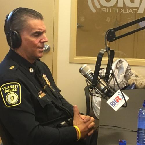 MBTA Police Superintendent Richard Sullivan