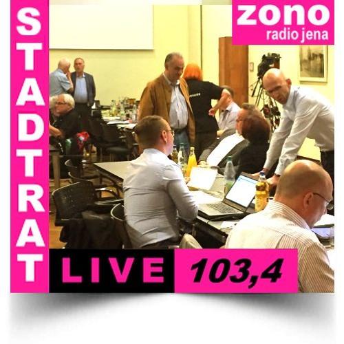 Hörfunkliveübertragung (Teil 2) der 37. Sitzung des Stadtrates der Stadt Jena am 18.10.2017