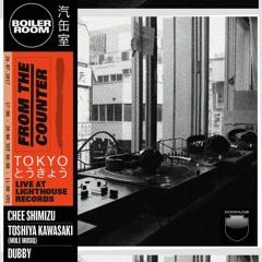 Chee Shimizu Boiler Room Tokyo DJ Set