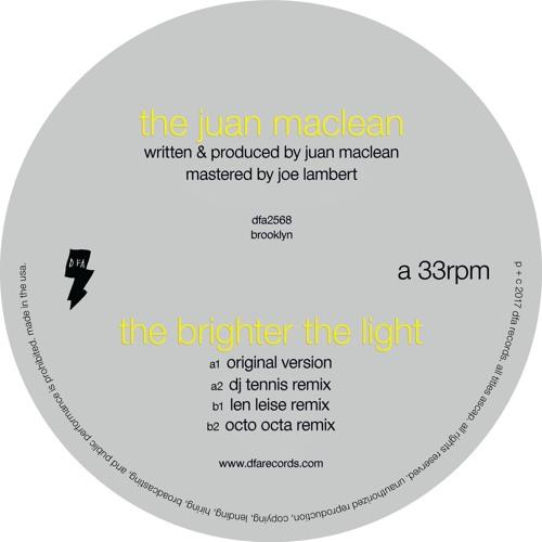 The Juan Maclean - The Brighter The Light (DJ Tennis Remix)