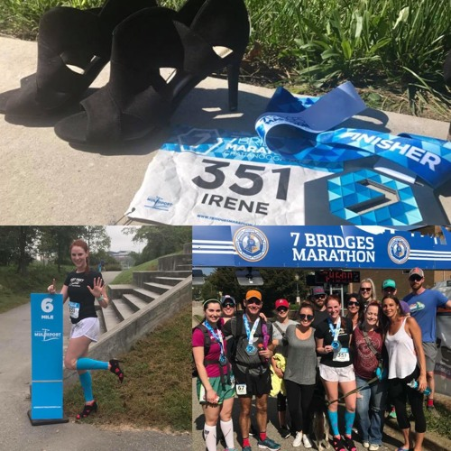 82:Non-Runner to setting High Heels Marathon Running Guinness World Record:Talking with Irene Sewell