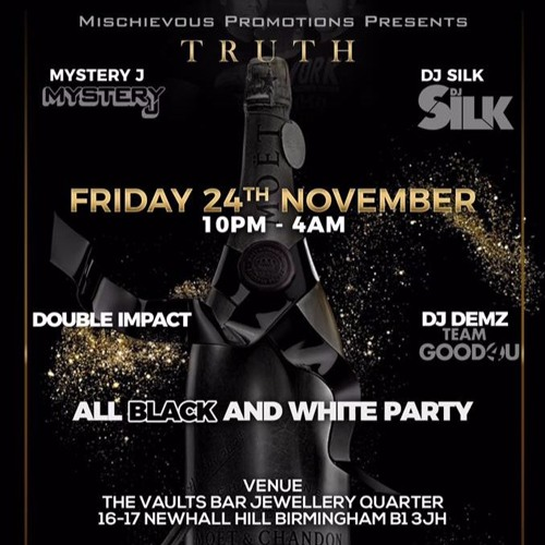 TRUTH| 24th November 2017| Promo Mix By Dj Silk and Trc