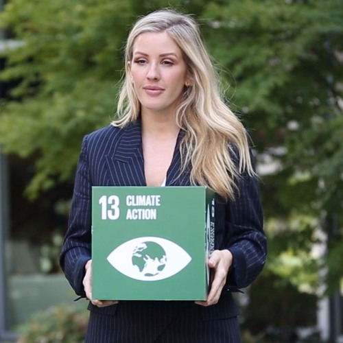 "Climate change isn't all ""doom and gloom:"" Singer Ellie Goulding at the UN"