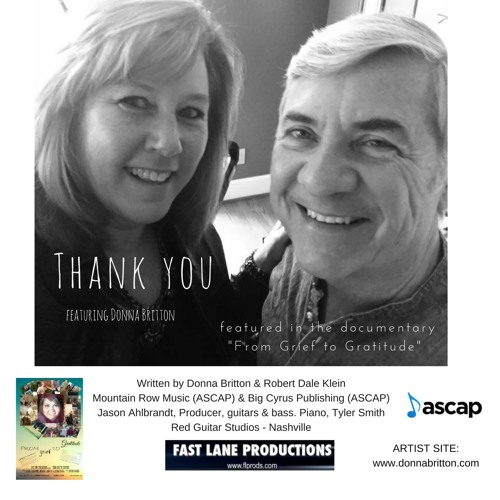 Thank You Featured In The Documentary From Grief To Gratitude By