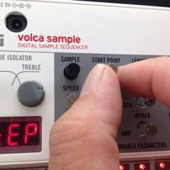 Korg Volca Sample live short jam