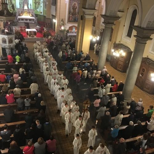 Sveta maša v župnijski cerkvi na Viču