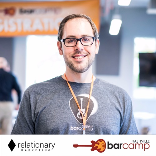 David Cramb with Jason Belcher at BarCamp Nashville 2017