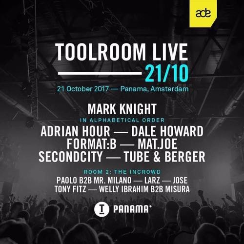 DJ JOSE live DJ set at Toolroom Live, Room 2 ADE 2017, Club Panama Amsterdam