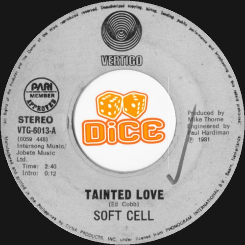 Soft Cell - Tainted Love (DiCE EDiT)// Free Download
