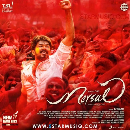 Mersal  Maayon - The Magician Song  Actor Vijay  A. R. Rahman  Atlee