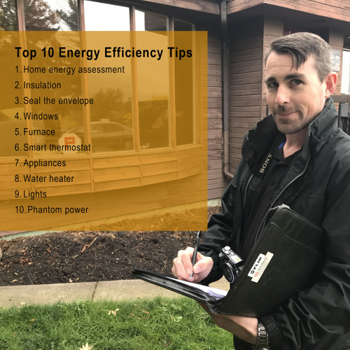 182. Top Ten Energy Efficiency Tips for the home