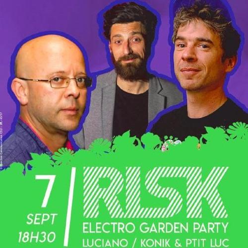 P'tit Luc - live Mix @ Electro Garden Party (Dijon - Fr) # 07.09.2017