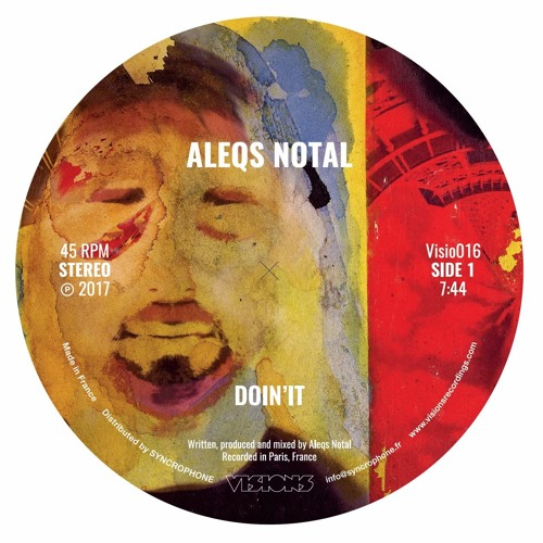 Aleqs Notal - Doin'it / Slow Down Sonance - Visions Recordings [Snippets]