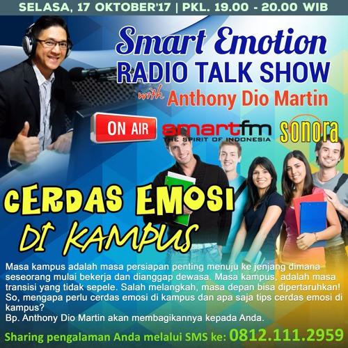 "Smart Emotion Radiotalk 17 Oktober 2017 ""Cerdas Emosi di Kampus"""