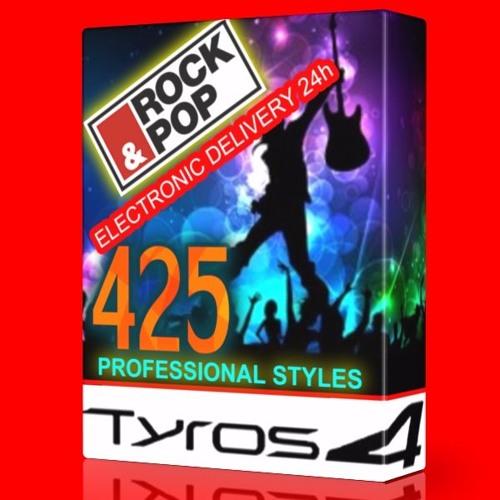 Pop & Rock ) ULTIMATE STYLE COLLECTION dla Yamaha Tyros 5,4,3,2 oraz