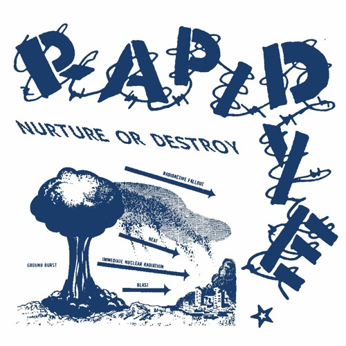 "PDR-024 - Rapid Dye 'Nurture Or Destroy' | 7"" EP OUT NOW."