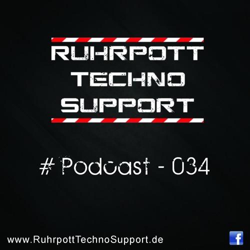 Ruhrpott Techno Support - PODCAST 034 - Urs Blank