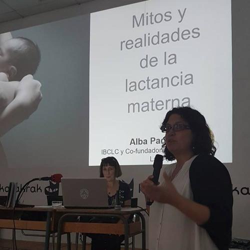 Alba Padró «Somos la leche»