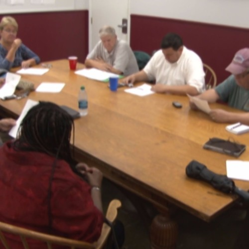 Greenfield Town Council Meeting October 24, 2017