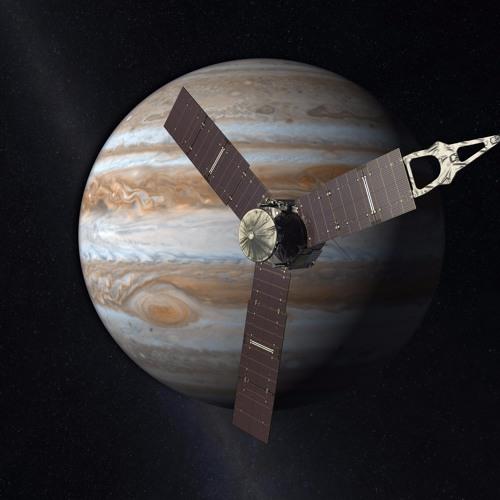 Juno: Entering Jupiter's Magnetosphere