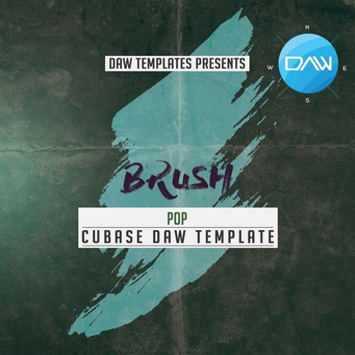 Brush Cubase DAW Template