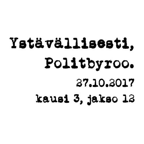 """""""Hallituskriisi"""", Nalle ja perustuslaki, Nordean yt:t, valtion monopolit - 27.10.2017"""