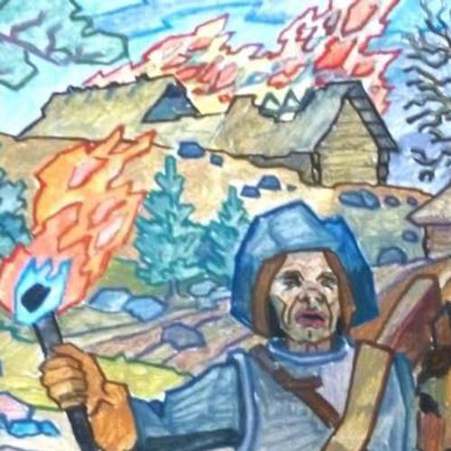 Sixten Svensson om skånska kriget, Loshultskuppen och Örkeneds bränning