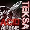 Teksa - Acid Airline  [vidéo live / Bass Addict Records 13]