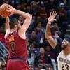 Los Cavaliers de Cleveland y Los Pelicans de New Orleans el 28 de Octubre del 2017