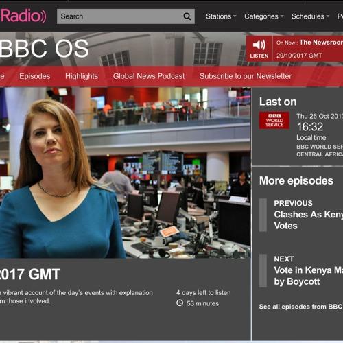 Aowen Jin on BBC Outside Source
